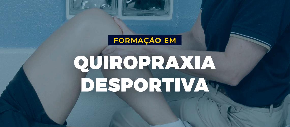 Formação em Quiropraxia Desportiva - Cursos